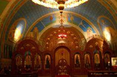 iconostasis of Sts. Volodymyr & Olha Ukrainian Catholic Church in Chicago