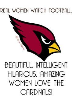 Arizona Cardinals Fans! Women love football too. @ArizonaLadyBirds #AZLadyBirds