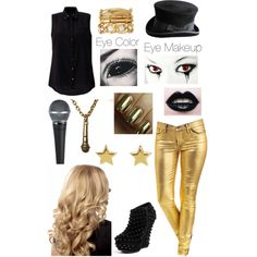 From polyvore human golden freddy girl human golden freddy girl by