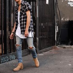 Aesthetic Grunge Outfit, Grunge Outfits, Men Dress, Street Wear, Cute Outfits, Hottest Women, Mens Fashion, Styles, Denim