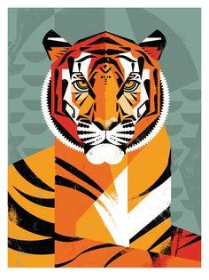 """Dieter Braun: Bild """"Tiger"""" (2015) - Artes"""