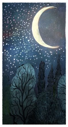 moon and the stars