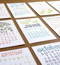 cute calendars!