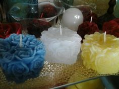 Flowers candles ♥