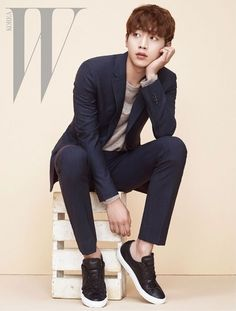 Brb, dying.K, back. Actor Seo Kang Jun showed off his amazing visuals once again in a new phot…