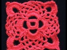 Motivo N° 3 cuadrado granny square en tejido crochet tutorial paso a paso. - YouTube