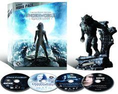 Underworld - Quadrilogy (4-Disc Bluray)