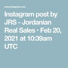 Instagram post by JRS - Jordanian Real Sales • Feb 20, 2021 at 10:39am UTC Jordan Royal Family, Instagram Posts