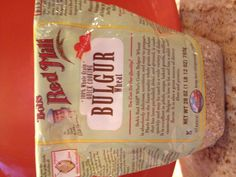 """Bulgur Wheat is a great non-soy alternative to ground beef in vegetarian chili. My kids say """"It tastes like meat!"""""""