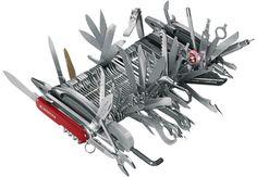 giant Wenger pocket knife