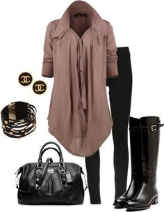 Maybe the blouse in another color for me, but like the idea!