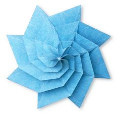 origami spiral