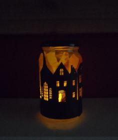 The Great Fire of London craft for kids. Tissue paper and silhouettes of…