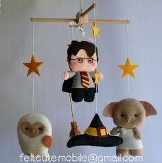 We can't get enough of this adorable Harry Potter baby mobile.
