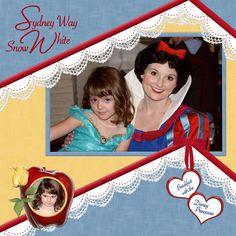 Disney Snow White {pinned by www.thedisneykids.com} #DisneyScrapbooking #DisneyScrapbook