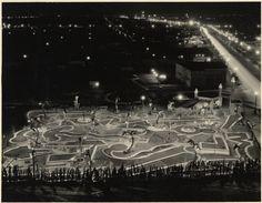 "Beautiful Photos of Wilshire's ""Ultramodernist"" 1930s Mini-Golf - Sepia Tones - Curbed LA"