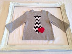 Little Man Valentines Tee by HLNBoutique on Etsy, $15.00