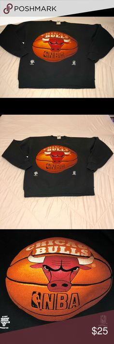 Vintage Chicago Bulls Sweater Large Nutmeg Fantastic Condition Vintage Chicago Bulls Sweater. Perfect for any Bulls Fan. Size Large. Questions and Offers Encouraged. NUTMEG Sweaters Crewneck