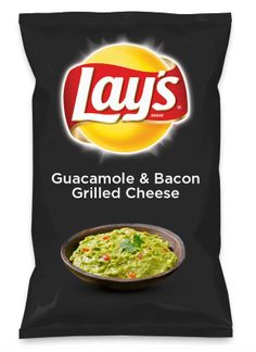 Go vote for my flavor!! :) -Jacelyn  Wouldn't Guacamole & Bacon Grilled Cheese be yummy as a chip? Lay's Do Us A Flavor is back, and the search is on for the yummiest flavor idea. Create a flavor, choose a chip and you could win $1 million! https://www.dousaflavor.com See Rules.
