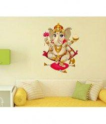 1d31cb27a Decals Design  Shree Ganesh  Wall Decal (PVC Vinyl