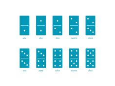 Counting Dominoes Wall Art Prints by Snow and Ivy | Minted