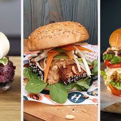 How To Make The Ultimate Veggie Burger Best Veggie Burger, Tofu Burger, Quinoa Burgers, Burger Buns, Salmon Burgers, Smoked Burgers, Homemade Burgers, Vegetarian Cookbook