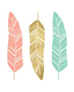 Items similar to Feather Printable Art Feather Wall Art Navy Coral Mint Nursery Decor Feather Print Tribal Nursery Print Baby Girl Nursery Printable Feathers on Etsy Pink And Gray Nursery, Mint Nursery, Tribal Nursery, Gold Nursery, Baby Girl Nursery Decor, Baby Prints, Nursery Prints, Nursery Wall Art, Nursery Quotes
