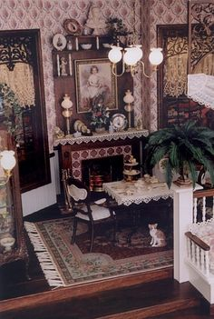 Miniature Victorian Style Dining Room