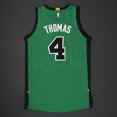 The NBA and MeiGray are proud to offer fans and collectors across the globe the opportunity to own a piece of history... a jersey worn during the 2015-16 National Basketball Association playoffs, by #4 Isaiah Thomas of the Boston Celtics.  Thomas wore ...