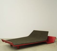 Roger Tallon;  Metamorphic Trapezoidal Bed, 1967.