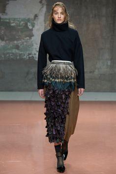 Marni Fall 2014 Ready-to-Wear Fashion Show - Maartje Verhoef