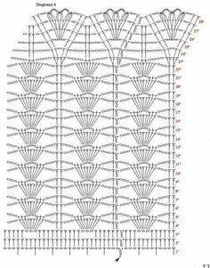 Croch et dress, free pattern. — Crochet by YanaIrish lace, crochet, crochet patterns, clothing and d Motif Mandala Crochet, Crochet Shawl Diagram, Crochet Chart, Hippie Crochet, Crochet Lace, Free Crochet, Crochet Stitches Patterns, Knitting Patterns, Crochet Cushion Cover