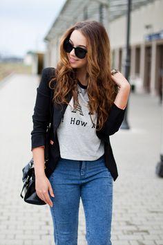 Korean Fashion Style Girl Fashion Style, Korean Girl Fashion, Trendy Fashion, Girl Outfits, Girly, Street Style, How To Wear, Hair, Clothes