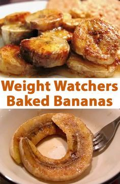 Weight Watchers Baked Bananas Recipe