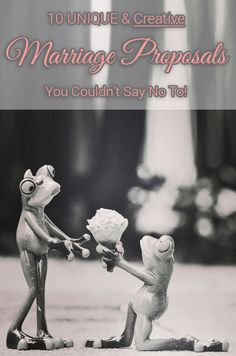 10 UNIQUE & Creative Marriage Proposals You Couldn't Say No To - [http://theendearingdesigner.com/12-best-creative-marriage-proposals-ever/]