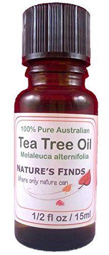 Tea Tree Oil Pure Australian 15ml Nature's Finds