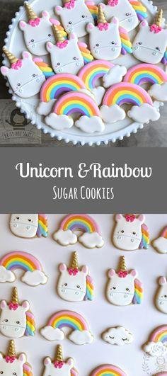 2 dozens of Unicorn and Rainbow Cookies #affiliate