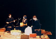 Ostad Shahram Nazeri and Pezhham Akhvass (tombak), concert in Iran (other musician not known)