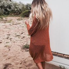 The beautiful @madelineerosee_ & the Eclipse Burnt Orange Kimono Limited stock available now http://ift.tt/1kqYGi7