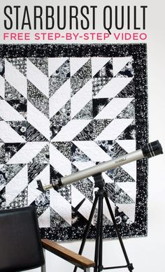 New Friday Tutorial: The Starburst Quilt | The Cutting Table Quilt Blog | Bloglovin'