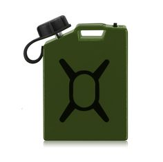 Fuel Micro-USB Charger - The world's smallest cell phone charger - Green