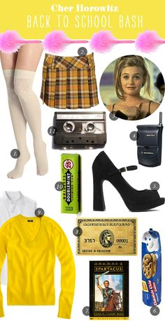 The Iconic Hostess :: Cher Horowitz   Grown Up Shoes for Camille Styles Shoes, Cher Horowitz, Costum, Birthday, Bachelorette Parties, Theme Parties, Camill Style, Cher Clueless, Halloween