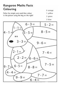 Math : May The Facts Be With You ~ Color By Codes Puzzle