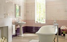Love Collection - Armonie by Arte Casa Elegant, Tiles, Home, Shades Of Blue, Clawfoot Bathtub, Wall Tiles, Wall, Bathroom, Bathtub