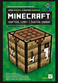 """""""Minecraft. Crafting, czary i świetna zabawa""""  #minecraft #helion #ksiazka #Danowski #crafting"""