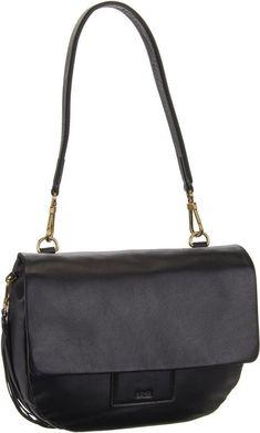 BREE Handtasche »Jersey 2« für 229,00€. Schultertasche, Leder, Reißverschlussfach auf der Rückseite, Tragegriff, Material: Leder bei OTTO