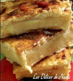 La KARENTIKA ou KALENTIKA est une spécialité de la cuisine algérienne. Recette est à base de farine de pois chiches. Facile et inratable avec l'aspect d'un flan Cooking Time, Cooking Recipes, My Favorite Food, Favorite Recipes, Tunisian Food, Algerian Recipes, Nigerian Food, Ramadan Recipes, Pancakes And Waffles