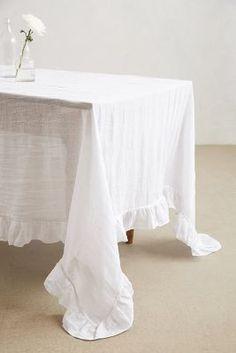 Anthropologie Farmhouse Tablecloth