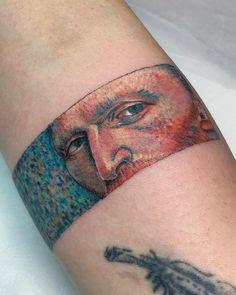 35 Tattoos, inspiriert von den Werken von Vincent van Gogh - 35 Tattoos, inspiriert von den Werken von Vincent van Gogh Imágenes efectivas que le proporcionamos - Tribal Tattoos, Tattoos Skull, Mini Tattoos, Leg Tattoos, Black Tattoos, Body Art Tattoos, Small Tattoos, Sleeve Tattoos, Cool Tattoos