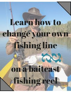 How to change your line on a bait casting reel. Every wonder how to change the line on your baitcast reel, the proper way? - Bait Cast -and- Fish Reels Fishing Rods And Reels, Fishing Line, Rod And Reel, Sea Fishing, Coarse Fishing, Spinning Reels, Fishing Accessories, Fishing Gifts, Red Fish